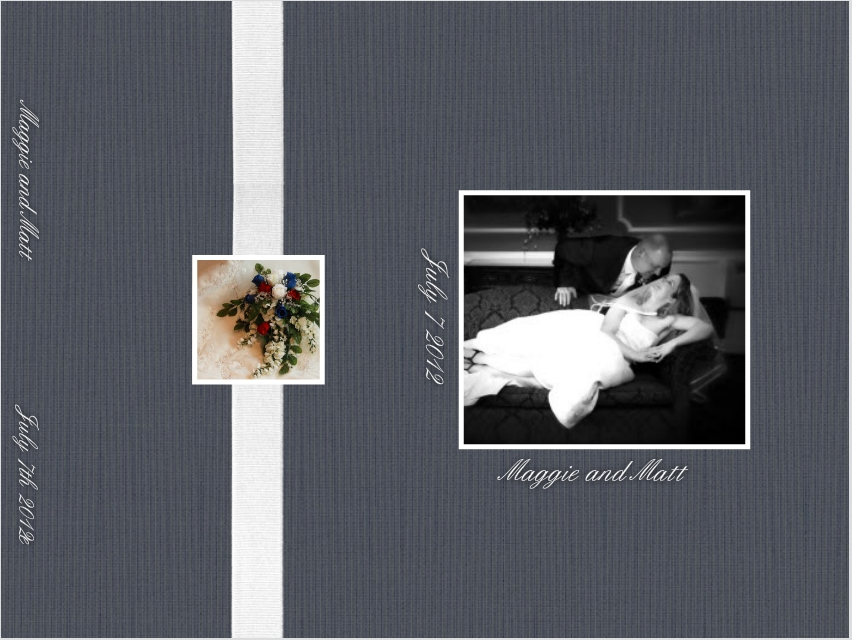 Cover Wedding Album Samples